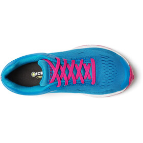 Icebug W's DTS4 RB9X Shoes Mineral/Dark Scarlet